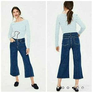 Boden | The York Cropped Flared Jeans (Size US 8P)